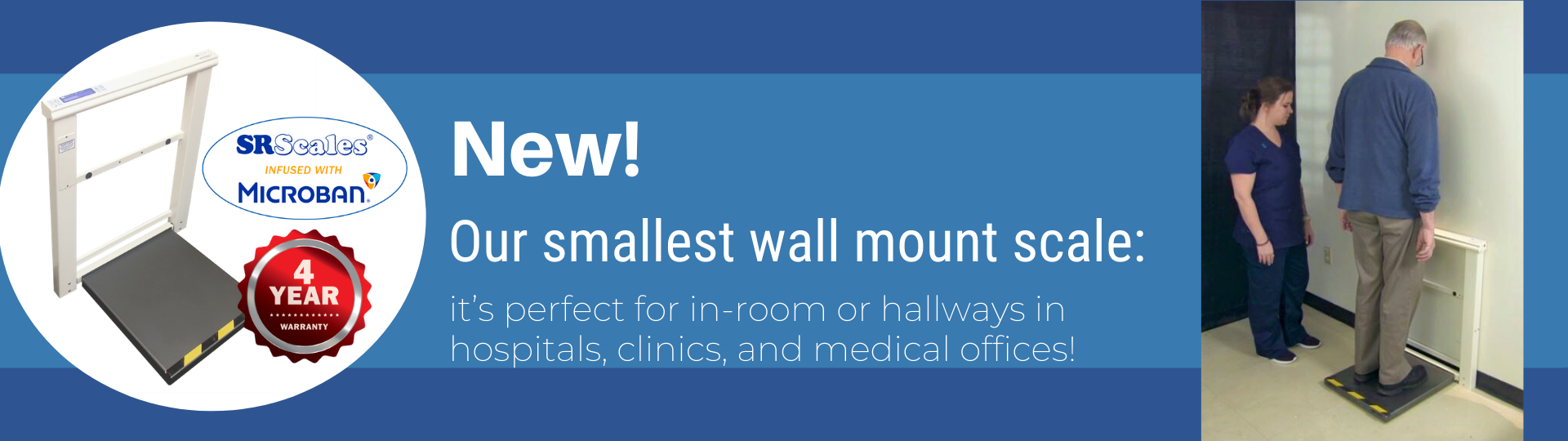 New Wallmount Scale